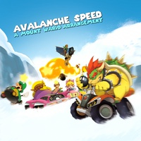 Avalanche Speed - Cover art